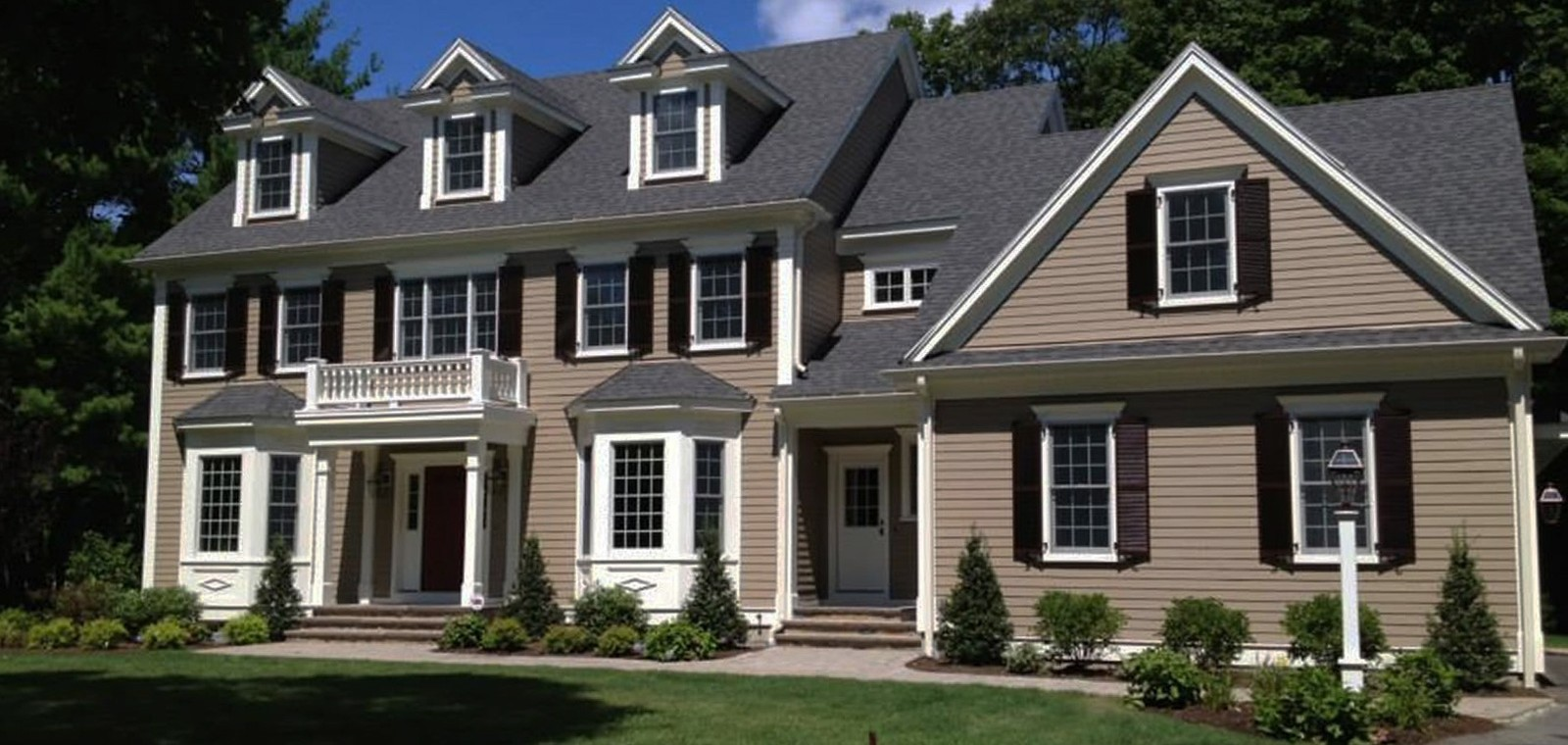New england shutter mills interior and exterior shutters - Pictures of exterior shutters on homes ...