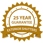 20 Year Guarantee | Exterior Shutters