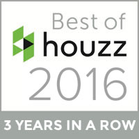 Best of houzz 2016 | 3 Years in a row
