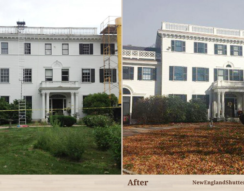 Before And After Portfolio Categories New England Shutter Mills Interior And Exterior