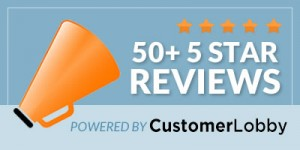 50+ 5 Star Reviews | Powered By: Customer Lobby